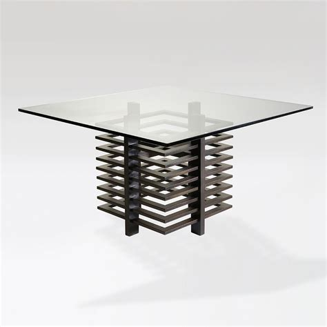 chocolate dining table 100 437