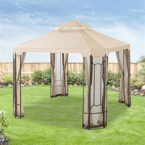 gazebo replacement cover home depot gazebo replacement canopy cover garden winds