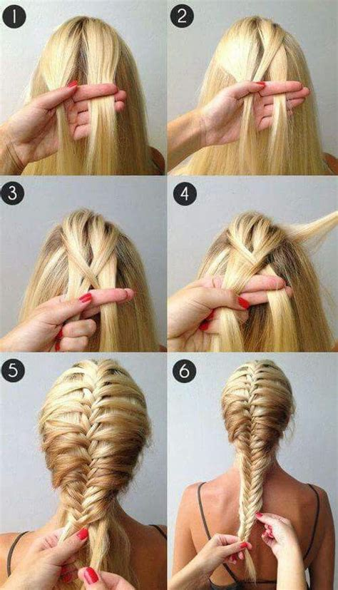 french braid your hair in 7 simple steps with a video a beautiful french fishtail braidso easy takes a while to