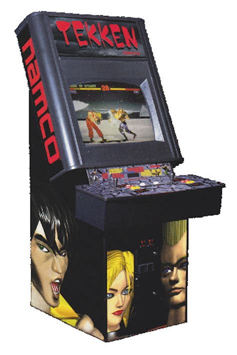 Tekken 3 Arcade Cabinet by Tekken History The Of Tekken Page 4 Of 4