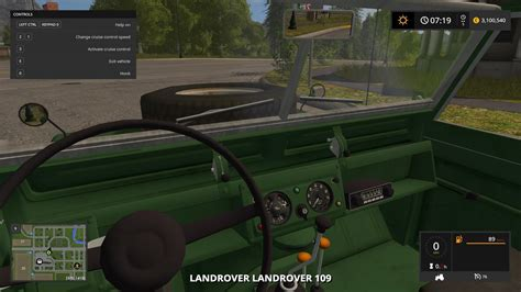 land rover mod land rover defender 110 fs2017 farming simulator 2017 fs