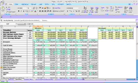 Excel Business Budget Template by 4 Excel Business Budget Templatereport Template Document