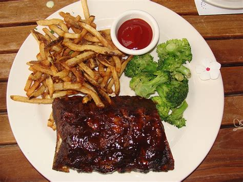 Half Rack Of Ribs by Right As At Red S Patio Grill Phipps Feeding Fiasco
