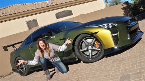 nissan gtr wrapped tanner fox tanner fox mom reacts to gtr launch tfox s gt r