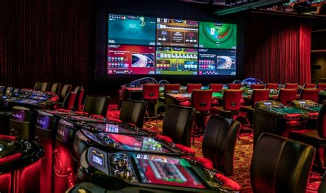 interblock installs north americas largest electronic table game footprint  gentings resorts