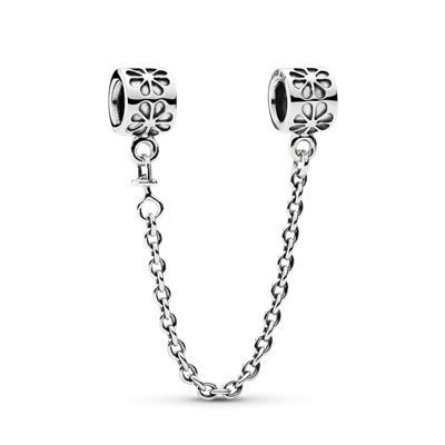 Floral Safety Chain   790385   Charms   PANDORA