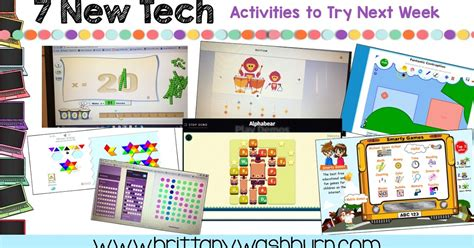 9 Activities To Try Today by Technology Teaching Resources With Washburn 7