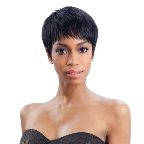 freetress short hair styles hailey freetress equal synthetic wig boy cut short