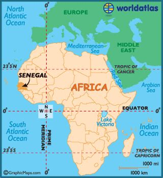 where is senegal on the world map senegal map geography of senegal map of senegal