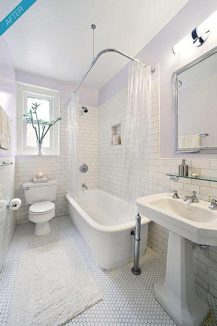 york city prewar apartment bathroom  classic