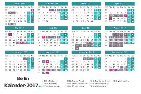 Kalender 2018 Ferien Und Feiertage Bw Ferien Berlin 2017 Ferienkalender 220 Bersicht