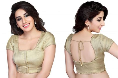10 Simple Yet Stylish Blouse Designs for Cotton Sarees