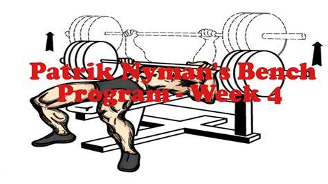 9 week bench program 9 week bench program 28 images mature athlete cycle 3