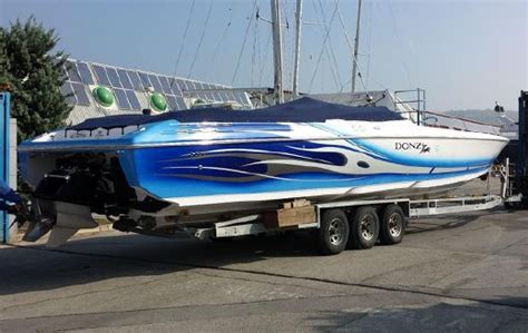 donzi powerboats for sale uk donzi 43 zr for sale yachtworld uk