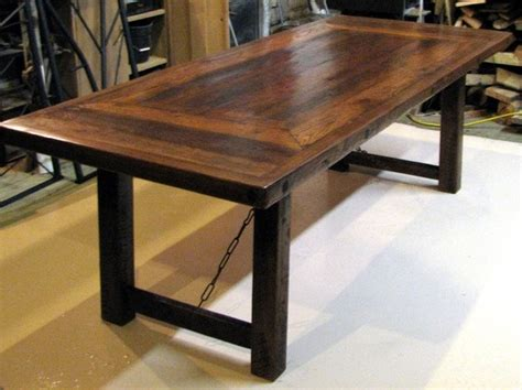 barn wood dining room table reclaimed barn wood dinning table diy furniture ideas
