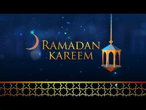 ramadan kareem cards template ramadan kareem ident intro after effects template