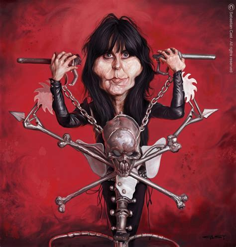 lucy lawless blackie lawless 24 best images about caricaturas on pinterest black