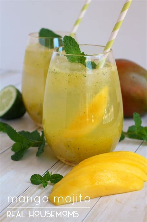 mango mojito recipe mango mojitos housemoms