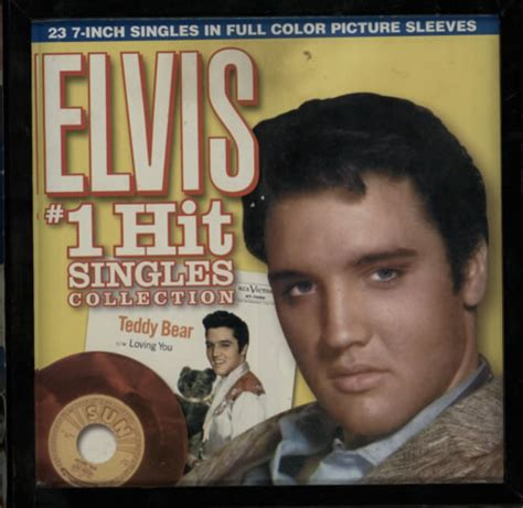 elvis presley army teddy bear wood cover for sale in galway 50 elvis presley elvis 1 hit singles collection us box set