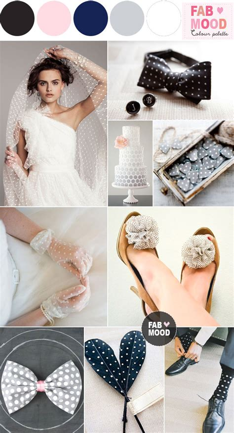 polka dot wedding theme ideas white black polka dot wedding theme