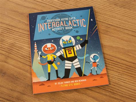 libro professor astro cats intergalactic flying eye books professor astro cat s intergalactic activity book