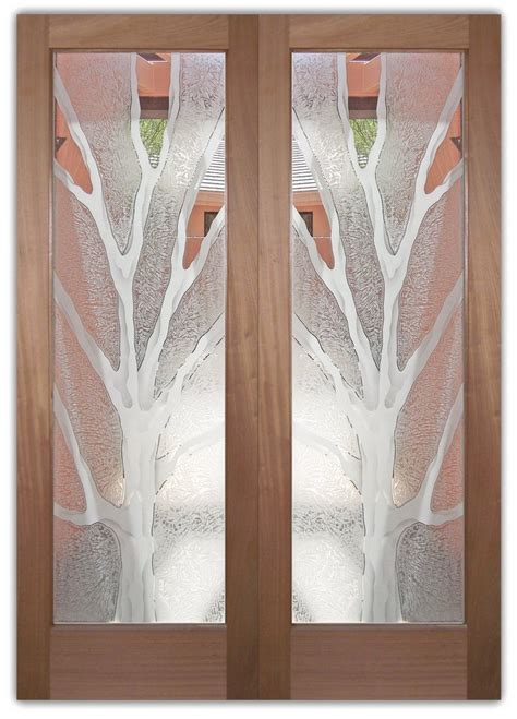 Glass Designs For Doors Glass Front Doors Barren Branches Frosted Glass Sans Soucie Glass