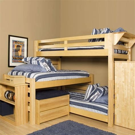 3 bunk beds smallrooms