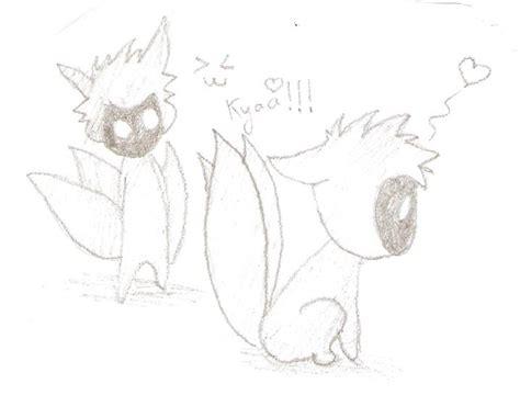 imagenes para dibujar de zorros naruto chibi para dibujar imagui