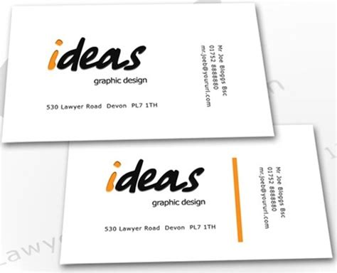 30 business cards templates you must check out wiki bus