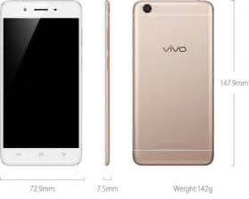 Vivo Y55 Vivo Y55 C Gold R Gold 5 2 In Octa 1 4ghz 2gb 16gb