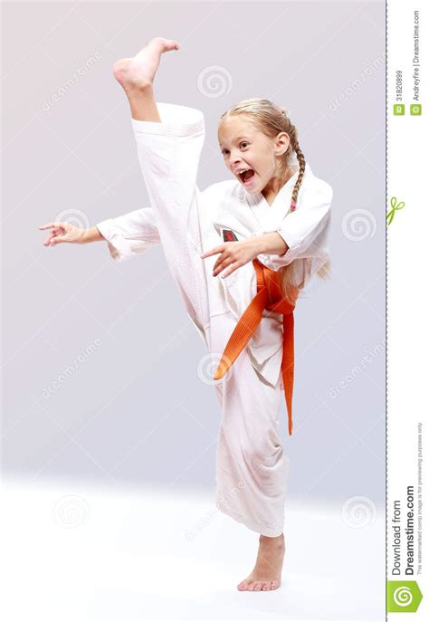Karate The Masster Of Attack And Defence professional karate stock image image of attack