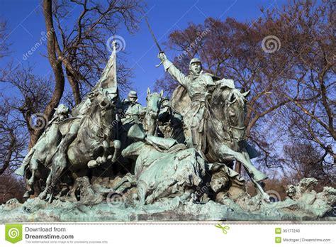 Washington Dc Civil War Cavalry Statue Near The Ulysses S Grant Memorial In Front O Cavalry Charge Ulysses Us Grant Statue Civil War Memorial Editorial Image Image