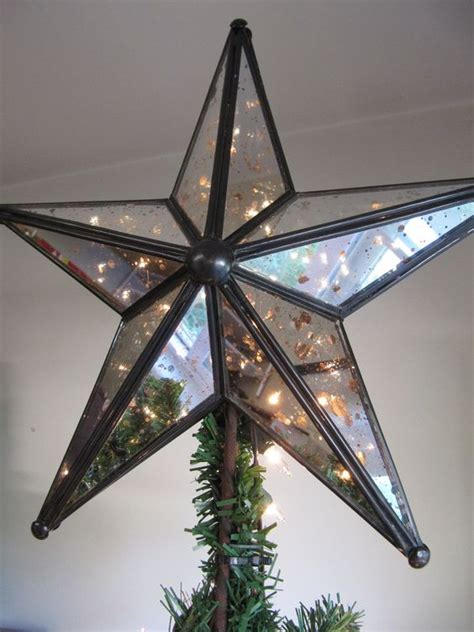 all modern led tree toppers lighted trees mercury glass and mercury on