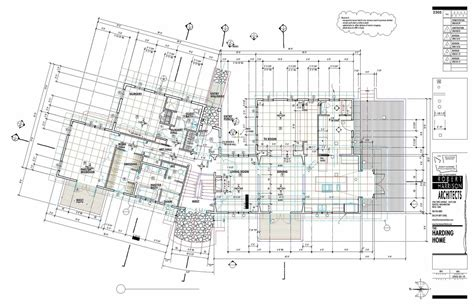 construction plans design process harrison architects