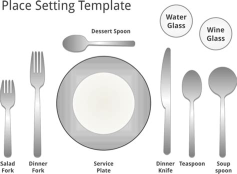 place setting template download place template for free formtemplate