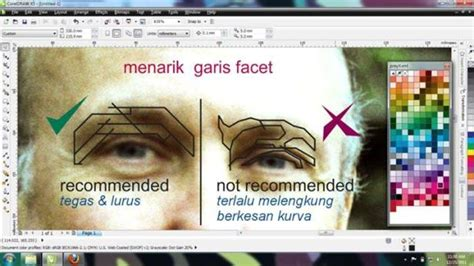 tutorial tracing wpap photoshop teknik dasar sebelum membuat wpap effect di photoshop