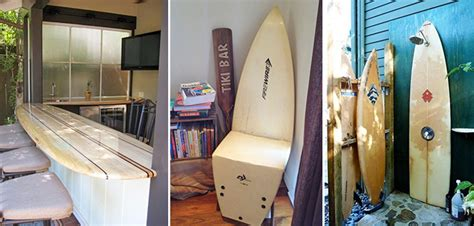 20 façons de recycler sa planche de surf