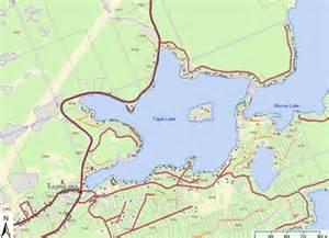 eagle lake canada map lake history
