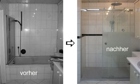 wanne gegen dusche tauschen bad teilmodernisierung teilrenovierung planung