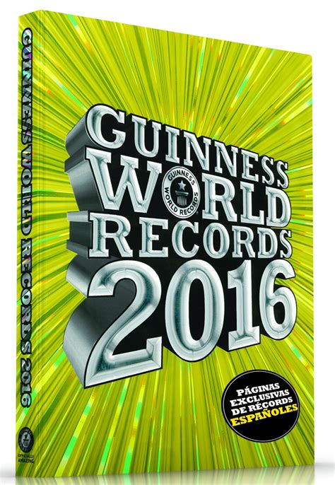 libro guinness world records 2015 161 ll 233 vate el guinness world records 2016 el gancho