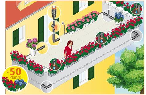 irrigazione a goccia terrazzo kit impianto irrigazione a goccia per aiuole e terrazzo