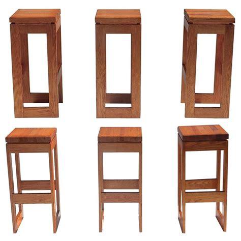bar stools for sale set of 6 butcher block block bar stools for sale at 1stdibs