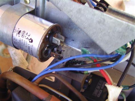 capacitor de aire quemado reparaci 243 n de aire acondicionado condensador y cables quemados