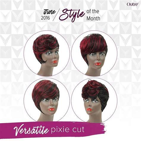 pixie cut tutorial step by step how to versatile pixie cut quick weave tutorial outretalks