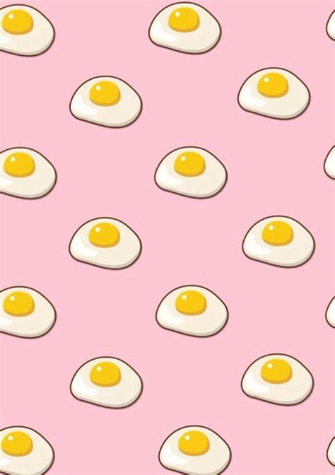 pattern tumblr wallpaper iphone background cute eggs food pink patterns pinterest