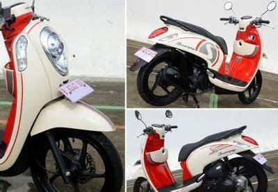 Jok Scoopy Fi Masih Bisa Pake 1 test ride honda scoopy fi kumpulan modifikasi motor