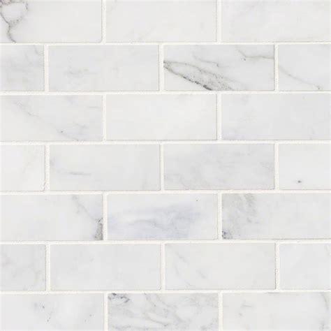 calacatta cressa white subway tile 2x4 subway tile