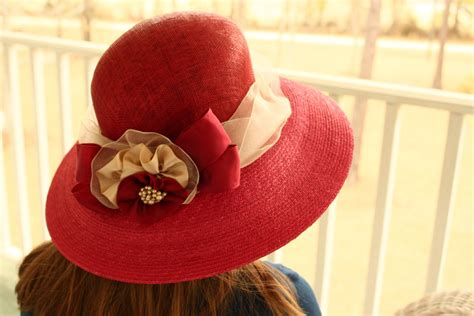 How To Decorate A Hat by Sissy Prissy And Decorating Hats