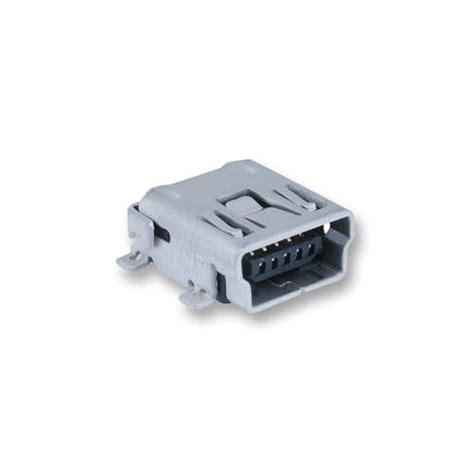 Mini Usb Pcb multicomp mc32598 socket mini usb pcb type ab smt