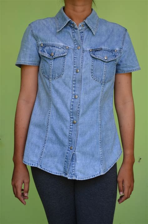 Kemeja Fashion At5202 kmj022 kemeja denim rp 45 000 quality controlled fashion